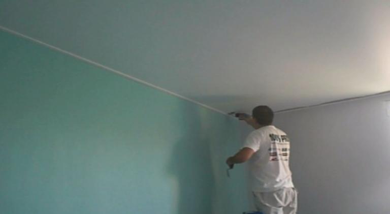 plafond peinture humidité tarif m2 commerce professionnel plafond-tendu-bretagne