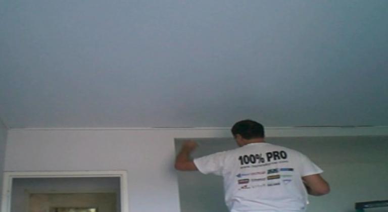 toile tendue prix m2 plafond-tendu-bretagne spots luminaire salon