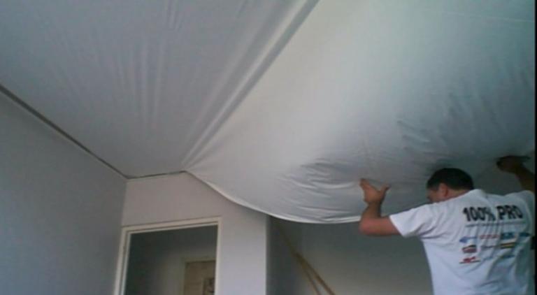 comment renover mon plafond devis plafond-tendu-bretagne toile tendue